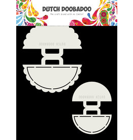 Dutch Doobadoo Dutch Shape Art 2x Clips 9x11cm