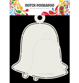 Dutch Doobadoo Dutch Shape Art 2x Christmas Bells 15x17cm