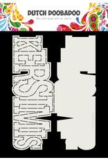 Dutch Doobadoo Dutch Card Art Kerstmis A4
