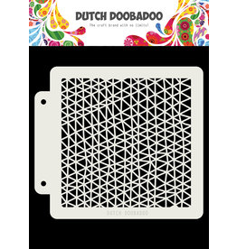 Dutch Doobadoo Dutch Mask Art Triangle wave 163x148 mm