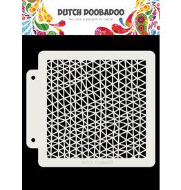 Dutch Doobadoo Dutch Mask Art Triangle wave 163x148 mm