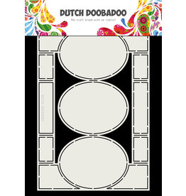 Dutch Doobadoo Dutch Swing Card art A4 Oval