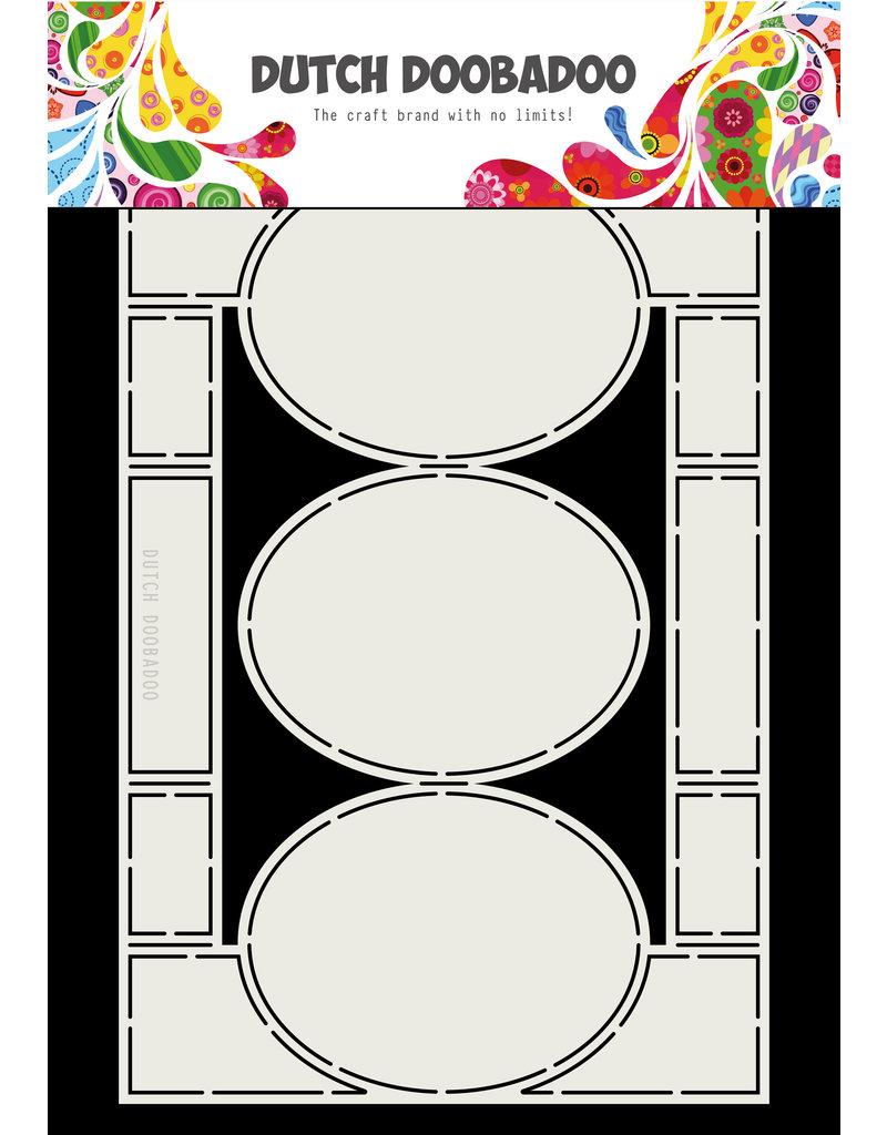 Dutch Doobadoo Dutch Swing Card art A4 Oval