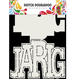 Dutch Doobadoo Dutch Card Art Jarig A5