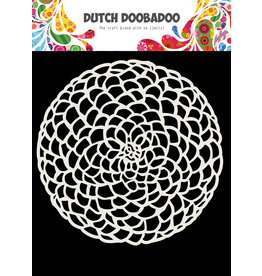 Dutch Doobadoo Dutch Mask Art 15 X 15 cm Flower circle