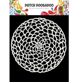 Dutch Doobadoo Dutch Mask Art 15 X 15 cm Flower circle