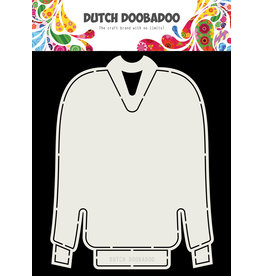 Dutch Doobadoo Dutch Card Art Christmas sweater A5