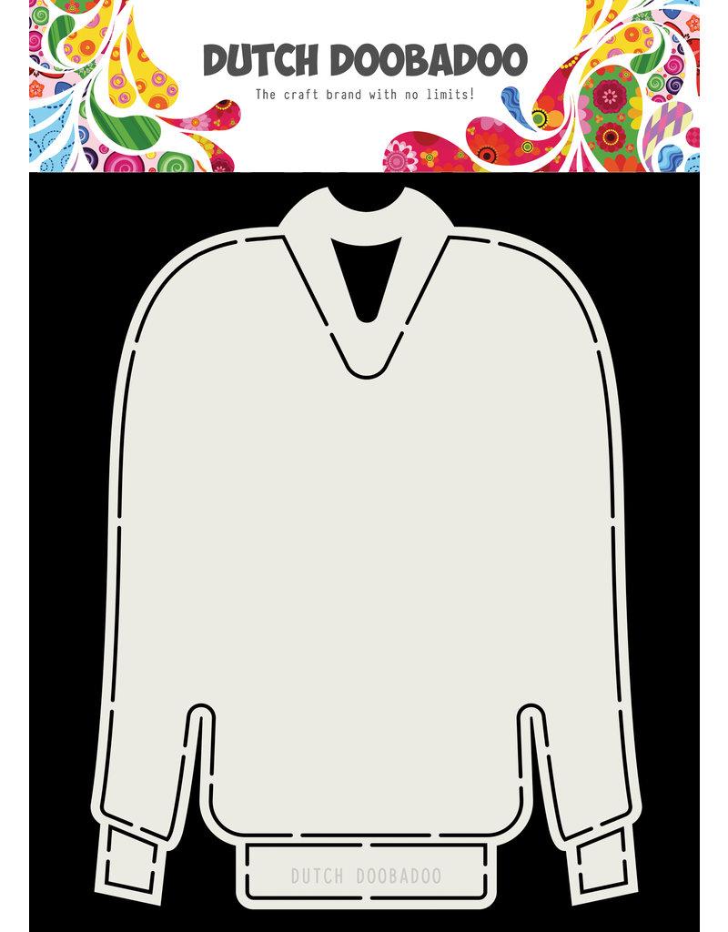 Dutch Doobadoo Dutch Card Art Christmas sweater A5