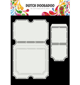 Dutch Doobadoo Dutch Card Art A4 Tickets