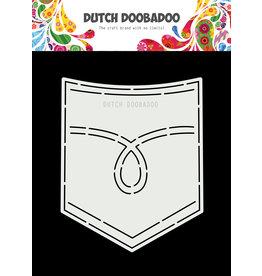 Dutch Doobadoo Dutch Card Art A5 Jeans Pocket