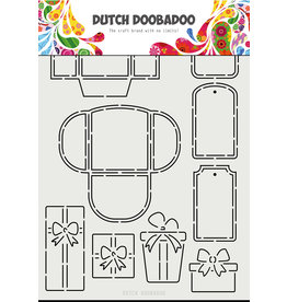 Dutch Doobadoo Dutch Card Art A4 Labels and Tags