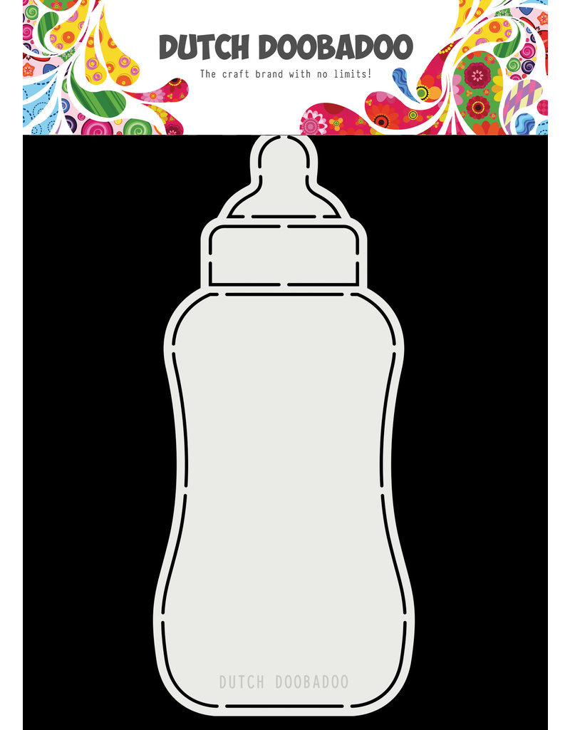 Dutch Doobadoo Dutch Card Art A5 Baby bottle
