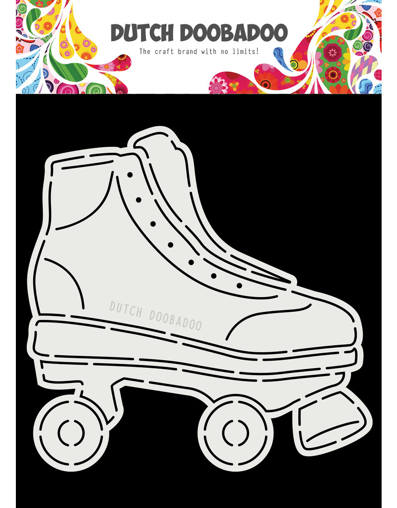 Dutch Doobadoo Dutch Card Art A5 Rollerskates