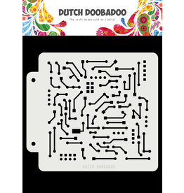 Dutch Doobadoo Dutch Mask Art Pepita 163x158mm - Copy