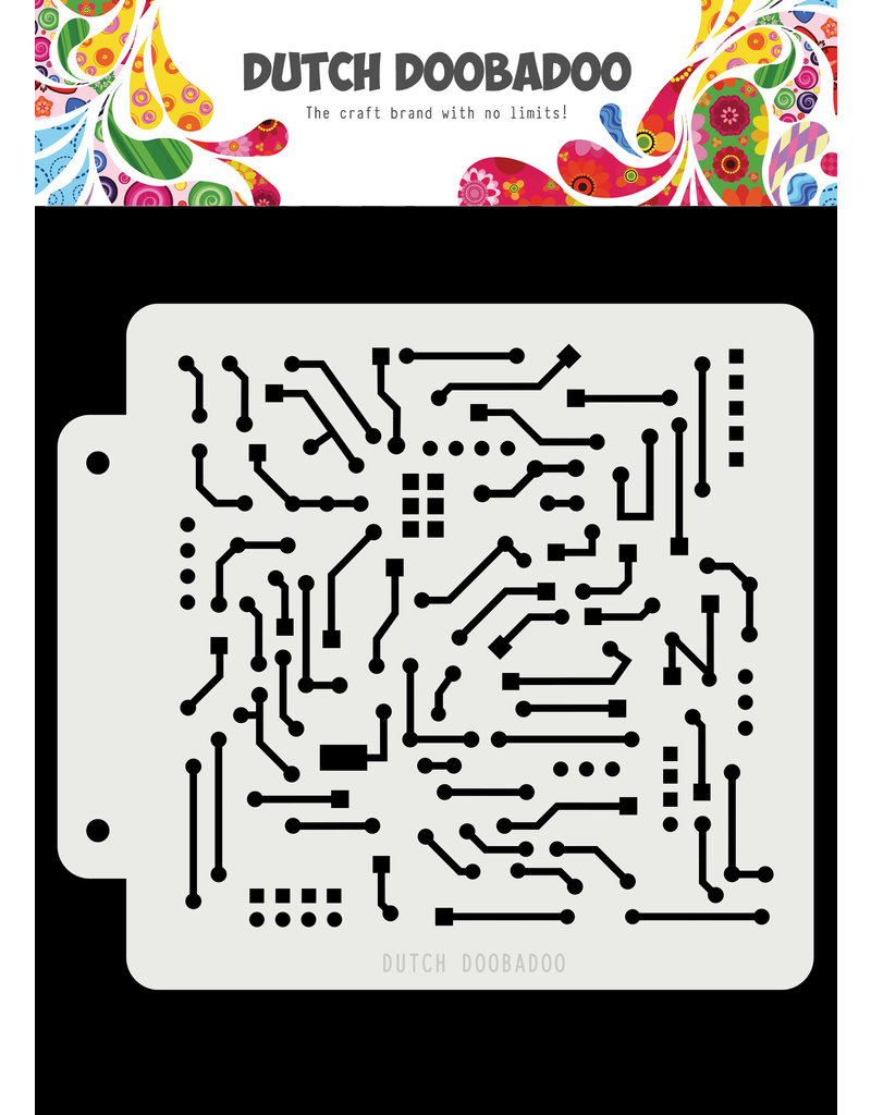 Dutch Doobadoo Dutch Mask Art Motherboard 163x148mm