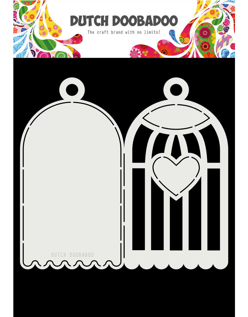 Dutch Doobadoo DDBD Card Art A4 Birdhouse