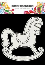 Dutch Doobadoo Dutch Card Art Schommelpaard A5