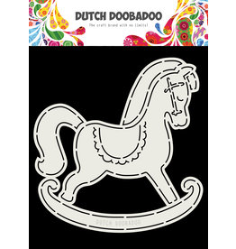Dutch Doobadoo Dutch Card Art Schommelpaard A5
