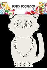 Dutch Doobadoo Dutch Card Art Cat A5