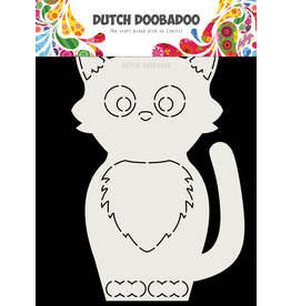 Dutch Doobadoo Dutch Card Art Kat A5