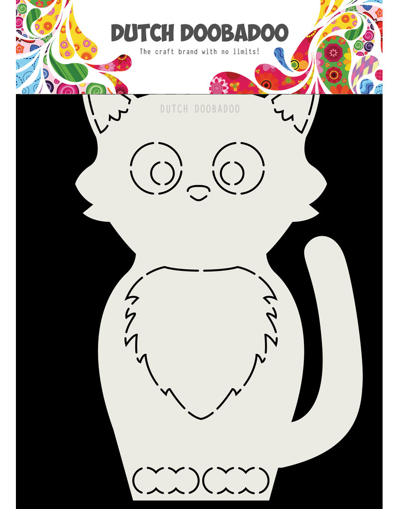 Dutch Doobadoo Dutch Card Art Kat A5