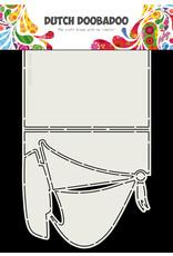 Dutch Doobadoo DDBD Card Art A4 Zeilboot