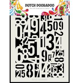 Dutch Doobadoo Dutch Mask Art Mask Art Numbers A5