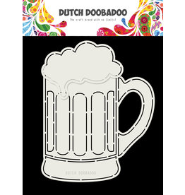 Dutch Doobadoo Dutch Card Art Beer glas A5