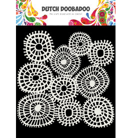 Dutch Doobadoo DDBD Mask Art 15 X 15 cm Linnen circles