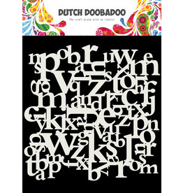 Dutch Doobadoo DDBD Mask Art 15 X 15 cm Letters