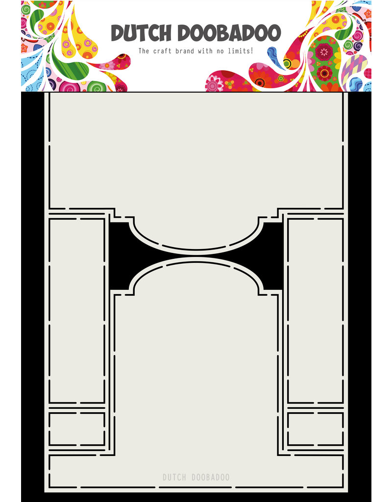 Dutch Doobadoo DDBD Card Art A4 Stepper label