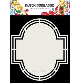 Dutch Doobadoo DDBD Dutch Shape Art Emerald A5