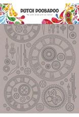 Dutch Doobadoo DDBD Chipboard Art Clocks A5