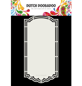 Dutch Doobadoo DDBD Dutch Shape Art Scallop tag
