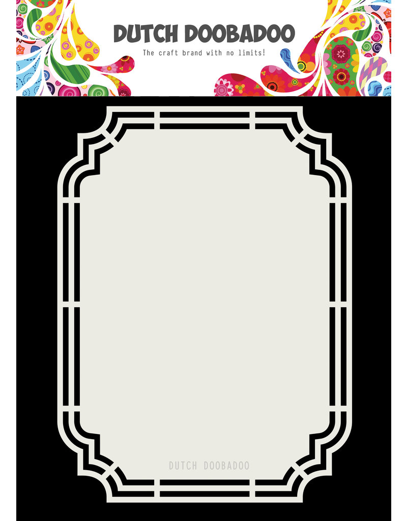 Dutch Doobadoo DDBD Dutch Shape Art Ticket A5