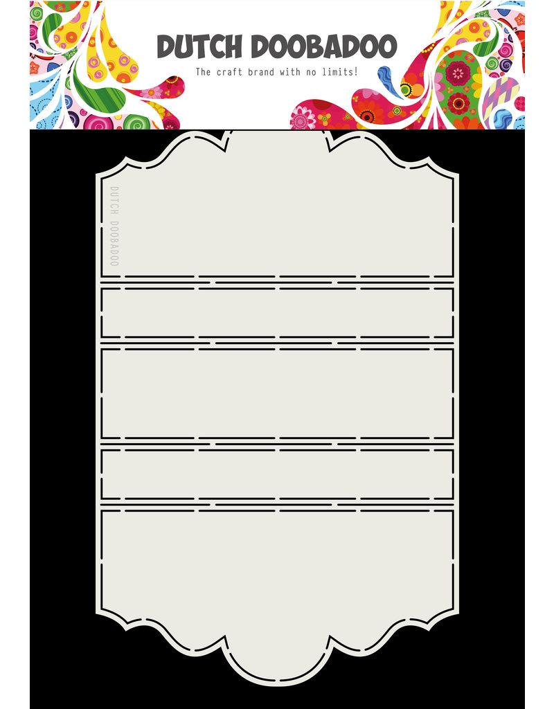 Dutch Doobadoo DDBD Card Art A4 Iris