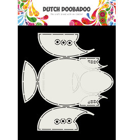 Dutch Doobadoo DDBD Card Art Babyshoes 2 set