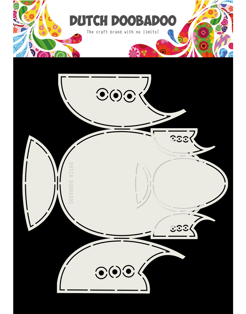 Dutch Doobadoo DDBD Card Art Babyshoes 2 set