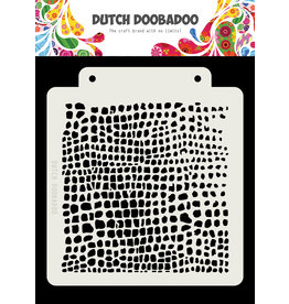 Dutch Doobadoo DDBD Dutch Mask Crocodile 163x148