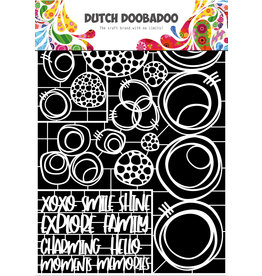 Dutch Doobadoo DDBD Dutch Paper Art Circles A4