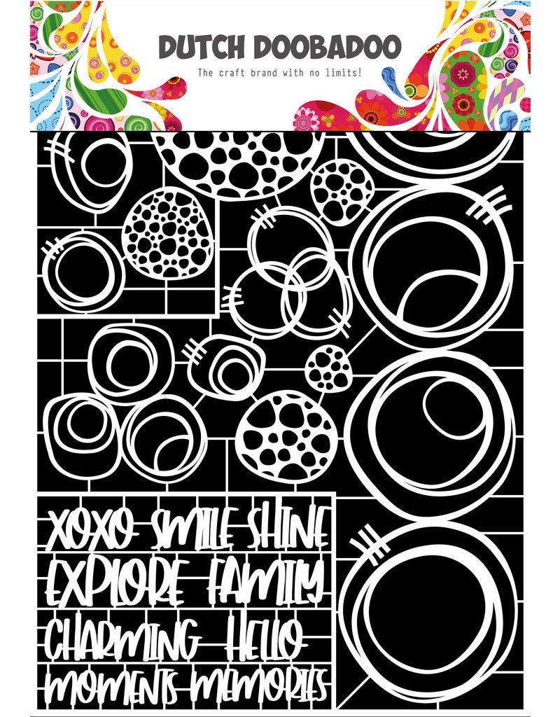 Dutch Doobadoo DDBD Dutch Paper Art Circles A4