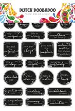 Dutch Doobadoo DDBD Dutch Sticker Art A5 Grunge tickets