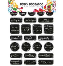 Dutch Doobadoo DDBD Dutch Sticker Art A5 Grunge tickets