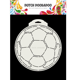Dutch Doobadoo DDBD Card Art soccer ball A5