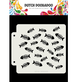 Dutch Doobadoo DDBD Dutch Mask Visgraat 163x148