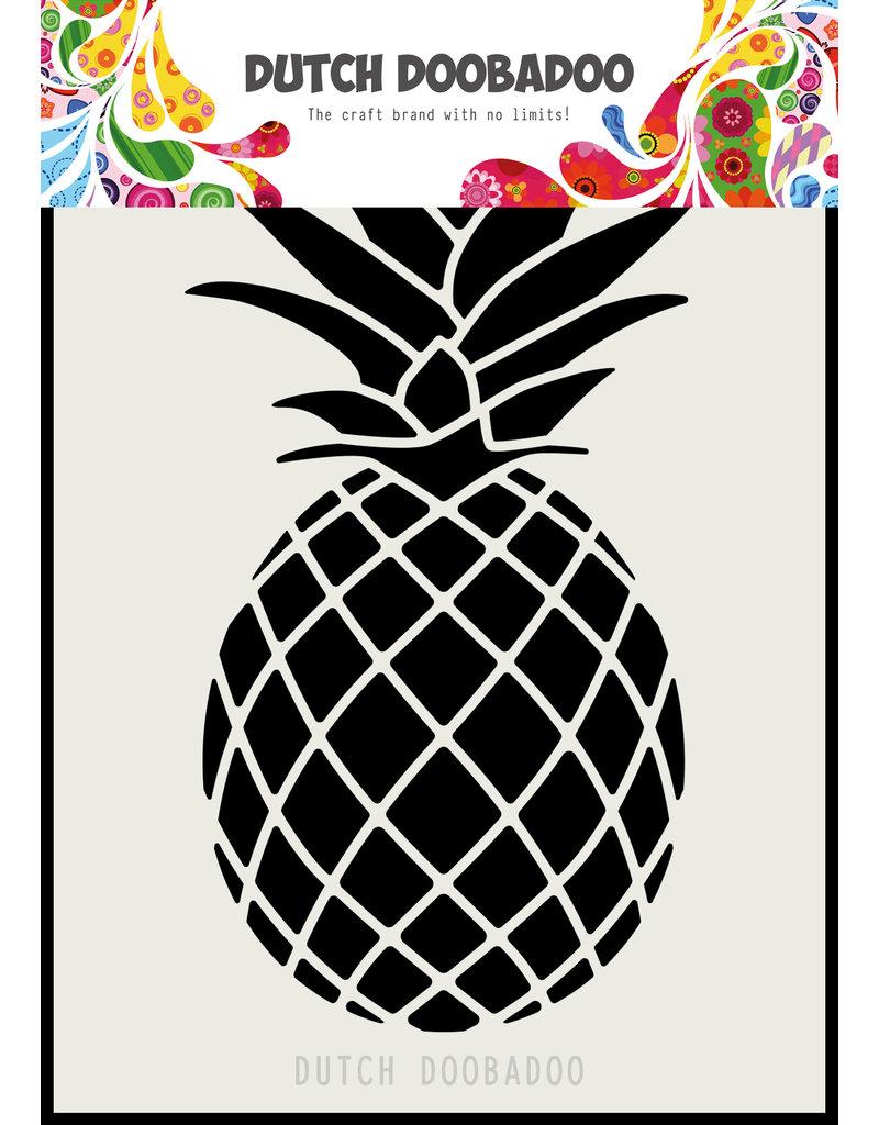 Dutch Doobadoo DDBD Dutch Mask Art A6 Pineapple