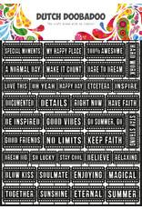 Dutch Doobadoo DDBD Dutch Paper Art A4 Tekst