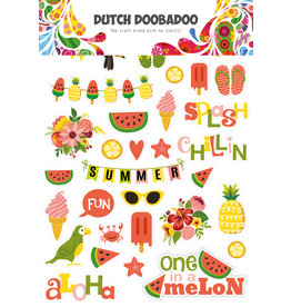 Dutch Doobadoo DDBD Dutch Paper Art A4 Summer