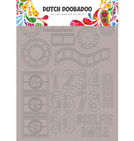 Dutch Doobadoo DDBD Greyboard Art Filmstrip A5
