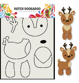 Dutch Doobadoo DDBD Card Art Rendier A5
